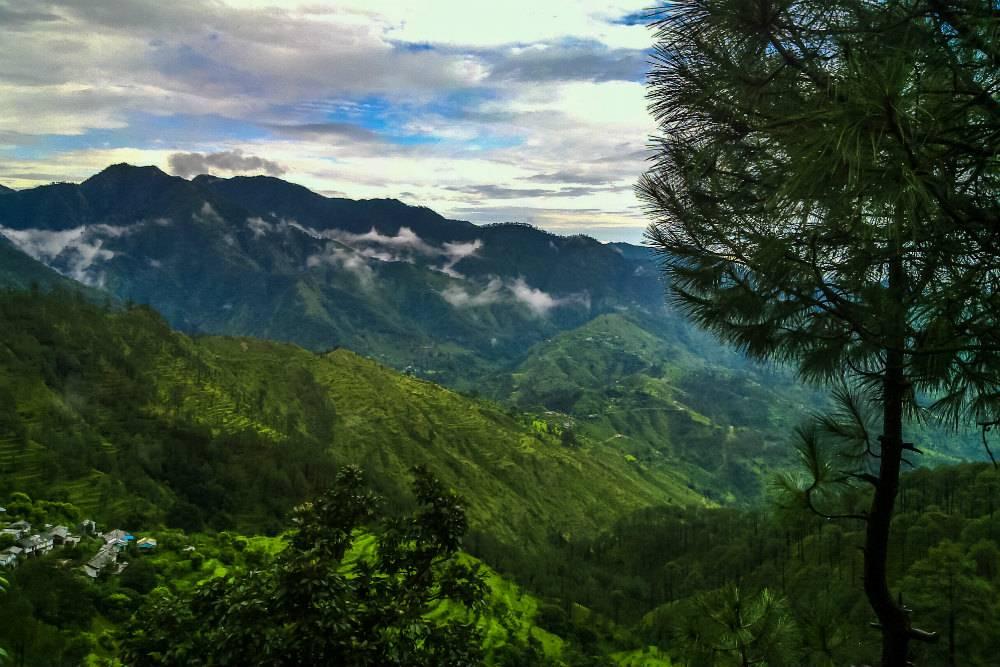 Shivalik Hills, Morni