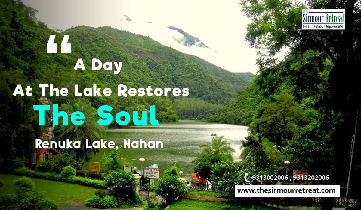 Renuka Lake Nahan